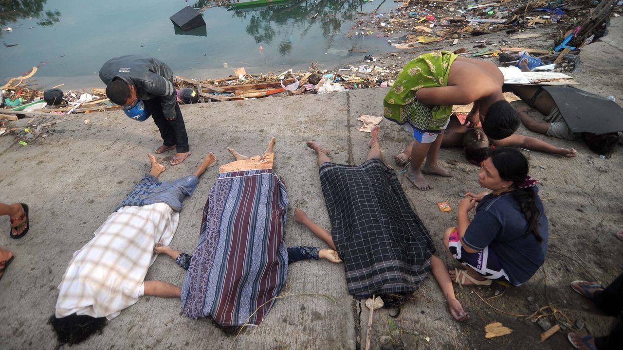 Indonesia se asoma otra vez al espanto.El 49er de Iago López y Diego Botín, hace unos días en Enoshima