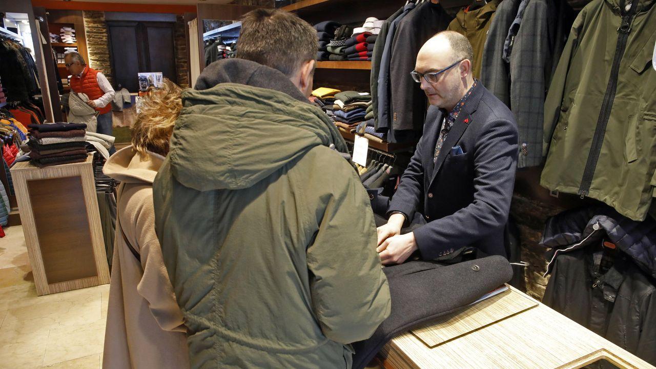 L'uomo moda hombre, en San Marcos, ofrece descuentos de hasta el 50%