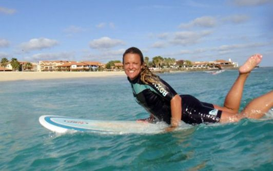 Pereda salvó a un joven de 25 años el lunes pasado en Fuerteventura