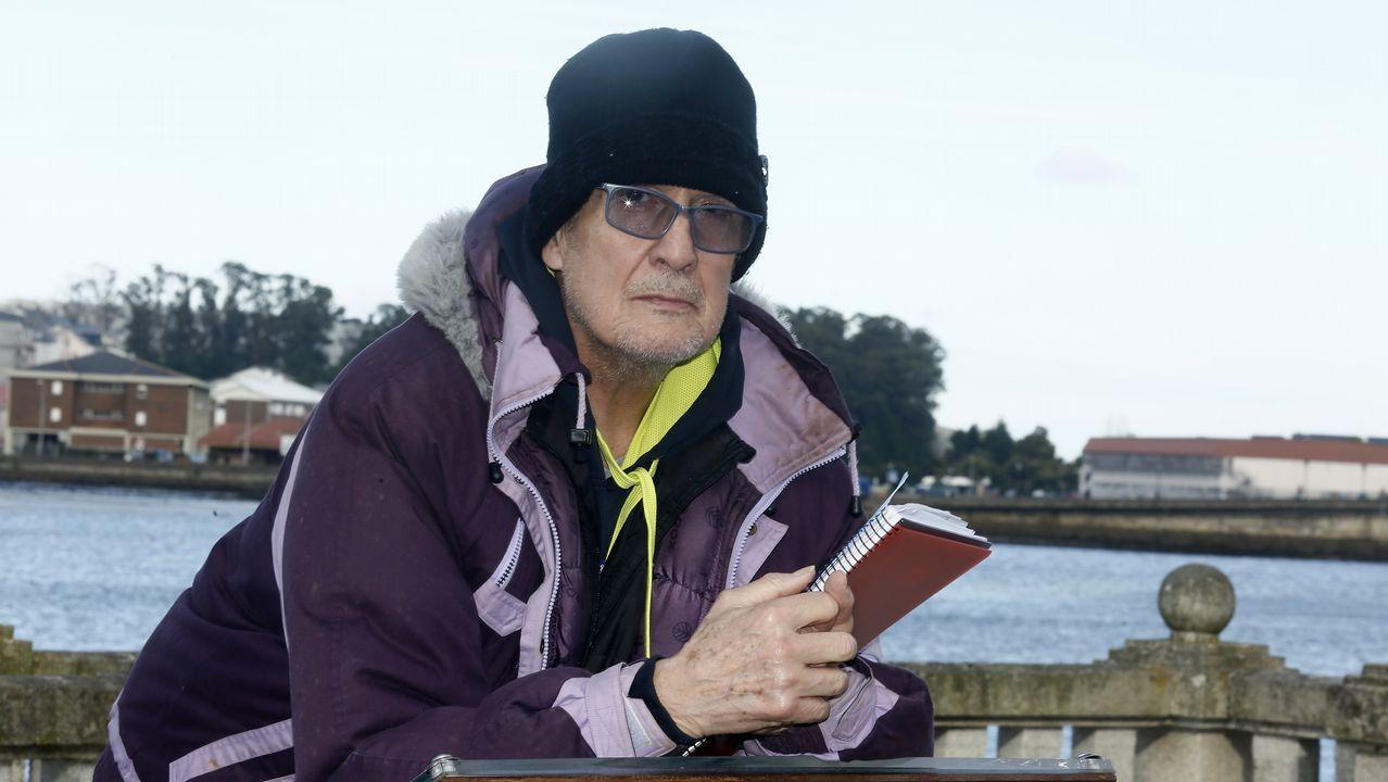 El escritor estadounidense Daniel Goleman, ayer en el Five Inspiration Forum en A Coruña