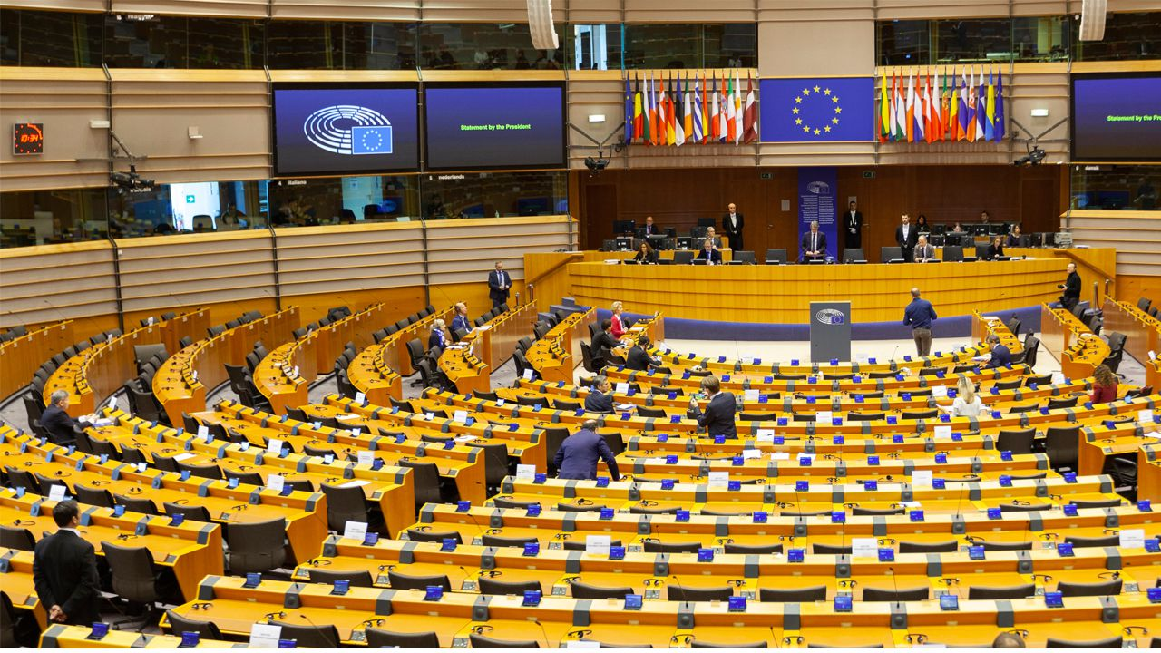 Parlamento Europeo, en Bruselas