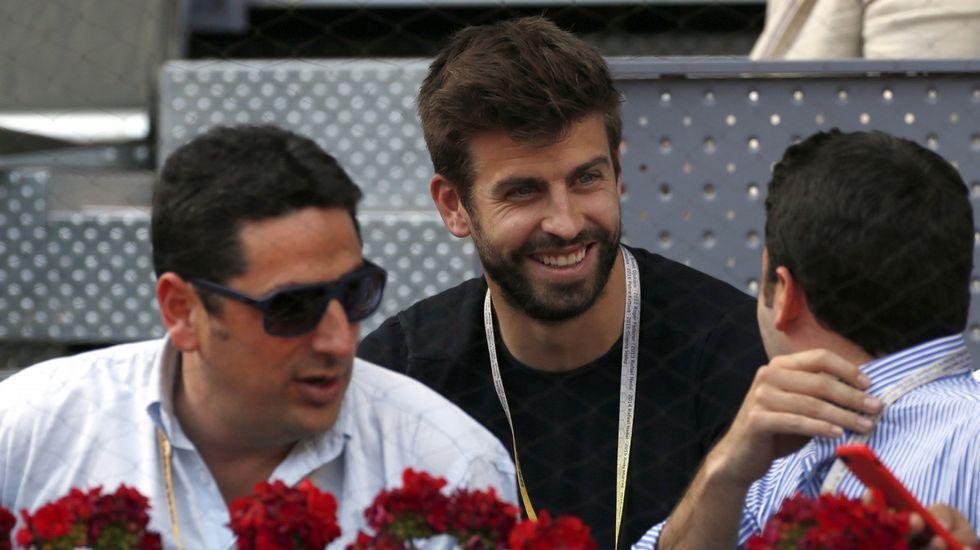 «Me enamoré», la declaración de Shakira a Piqué.El futbolista Gerard Piqué, en una imagen de archivo