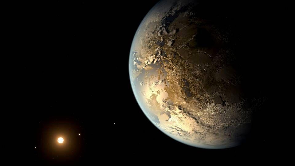 Kepler-186f, el planeta descubierto que podría albergar vida.