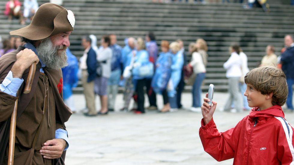 Sin duda, Zapatones ha sido una de las personas más fotografiadas de Galicia.
