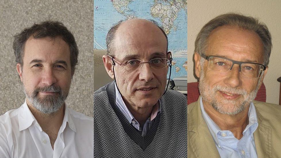 Carlos Salgado, Luis Miguel Botana y José Manuel Sabucedo, de la USC, reconocidos por las Medallas de Investigación de la RAGC