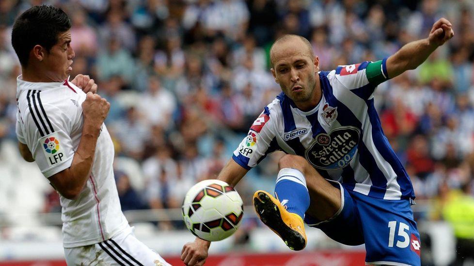 Laure perdió peso en el Deportivo pero reapareció con fuerza en las últimas jornadas.