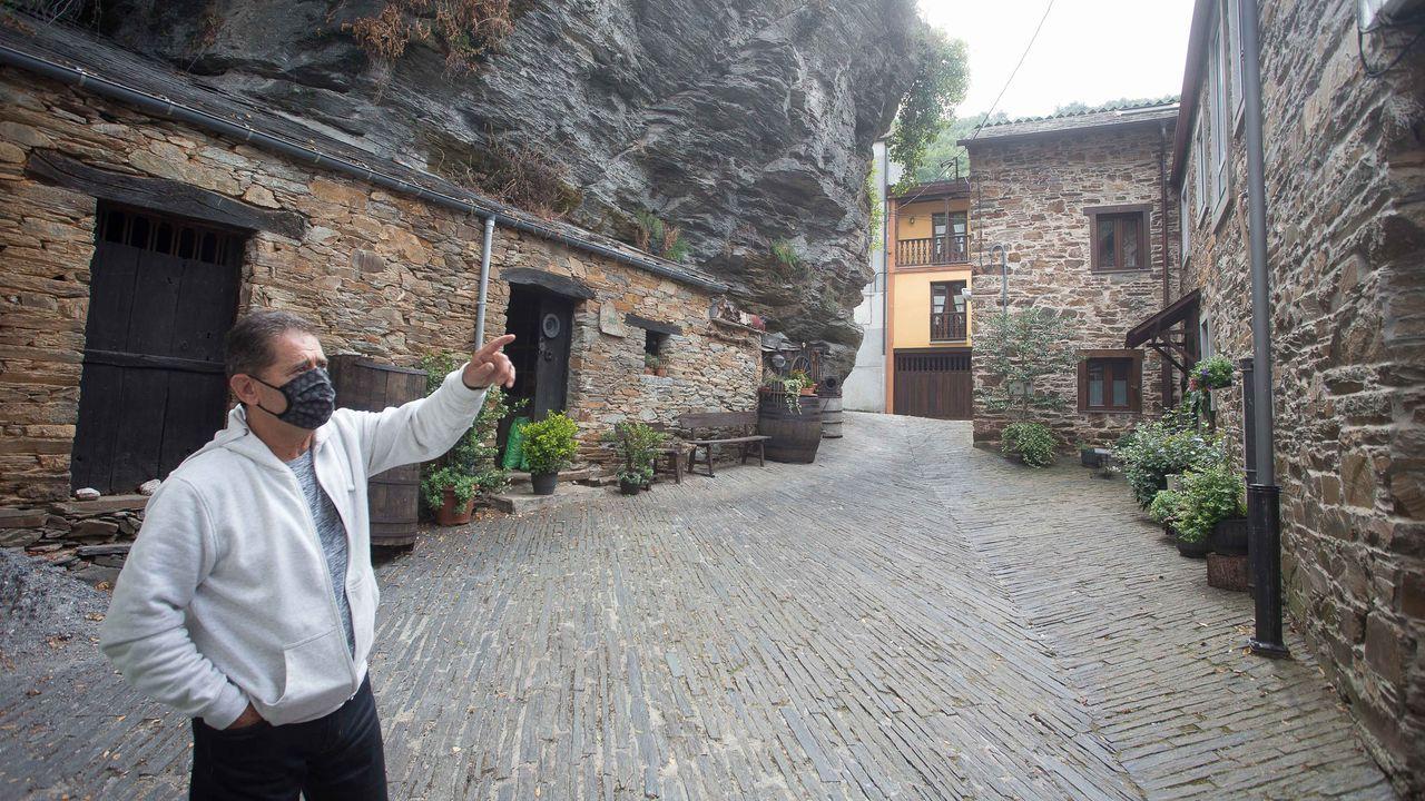 La vida en Os Ancares hace más de un siglo, atesorada bajo su castillo.Uno de los yates, de 52 pies, que alquila en la ría de Pontevedra la empresa Sea Galicia