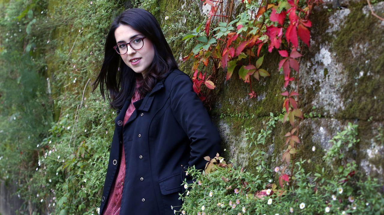 La poeta Alba Cid participará este domingo en un ciclo de la Biblioteca de Galicia