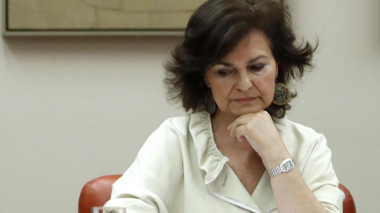 Calvo, sobre las declaraciones de Torra de «atacar al Estado español»: «Es una frase inaceptable con la que no se ataca al Estado».Quim Torra escribió una carta al presidente en funciones, Pedro Sánchez