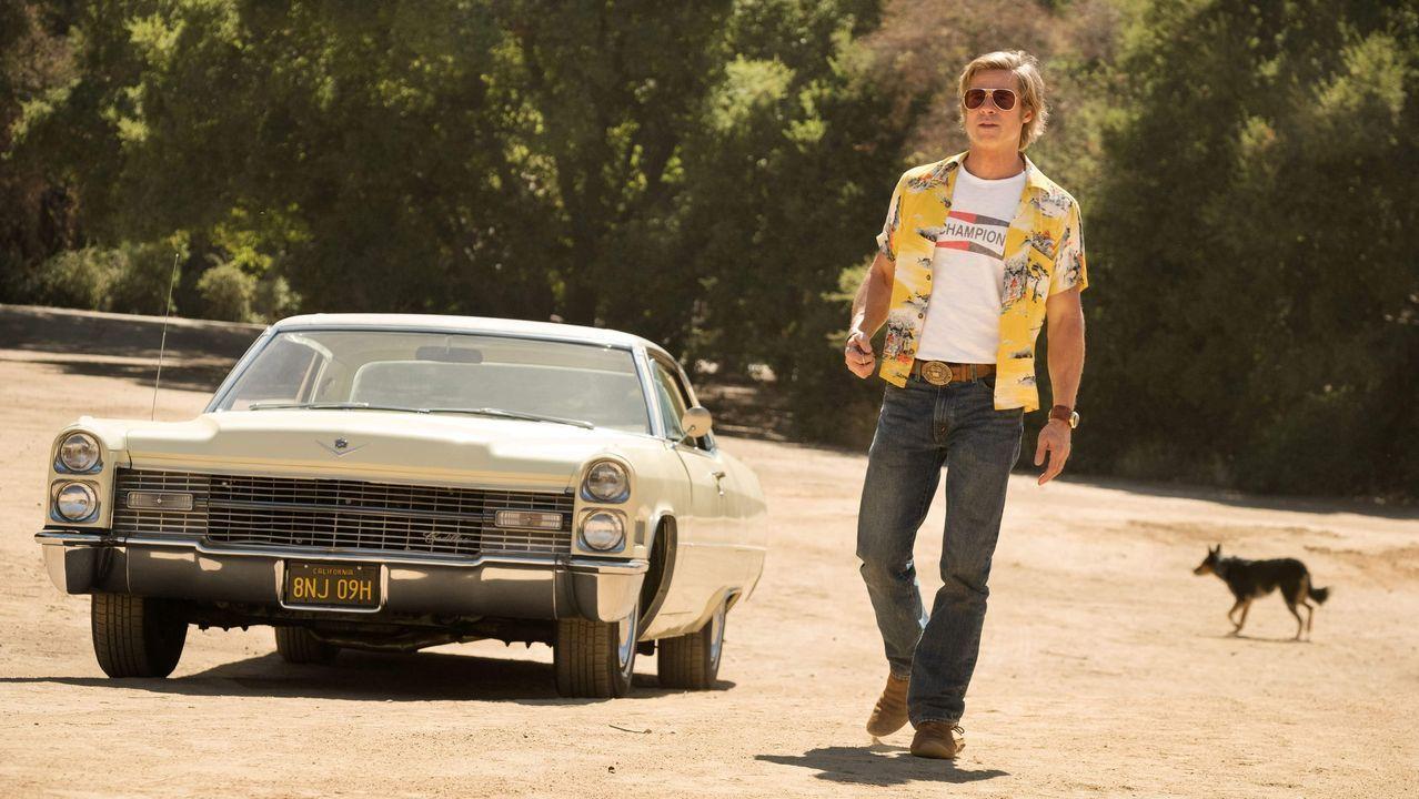 Brad Pitt, en un fotograma de la última película de Tarantino