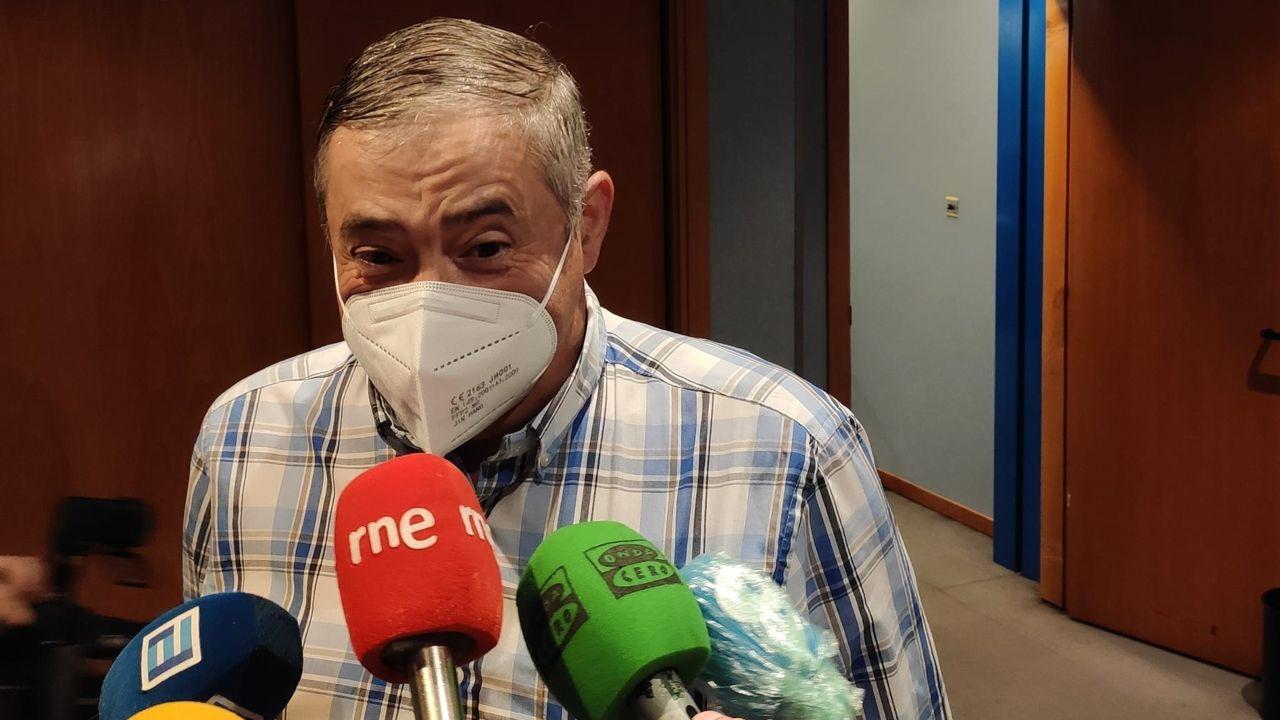 José Ramón García «Pachón»,  secretario general de UCA