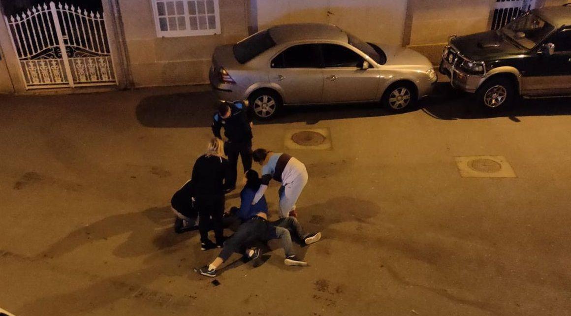 Así fue el ataque de Milton César Martínez a un policía fuera de servicio