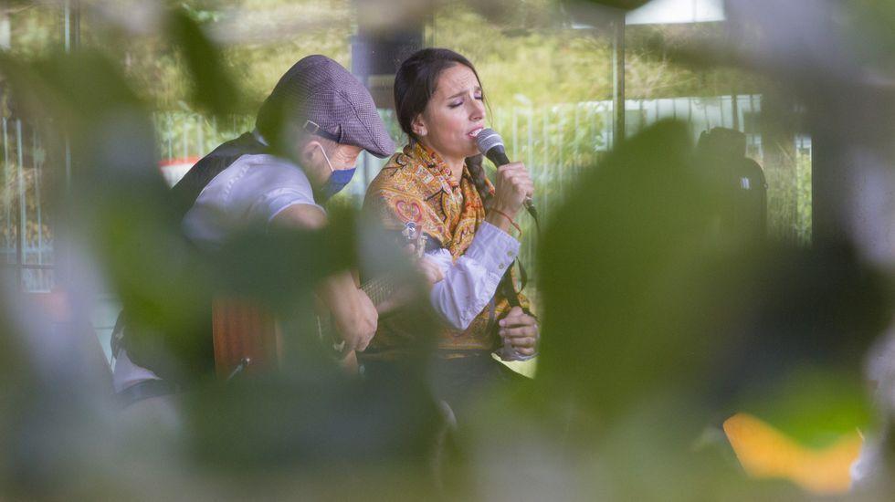 Espectáculo Rosalía onde medran as poetas.
