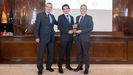 Los galardonados de TSK en  el concurso celebrado en Madrid, Quality Innovation Award