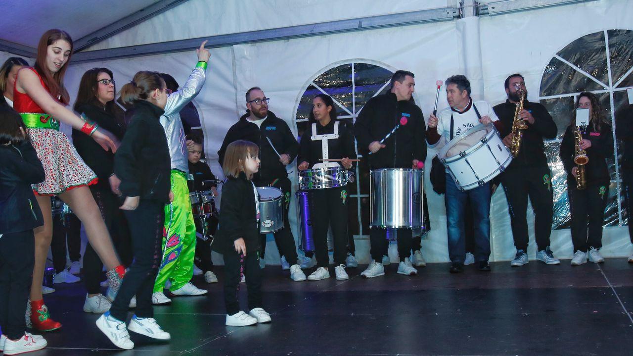 Pregón del Carnaval.El grupo de góspel Aba Taano