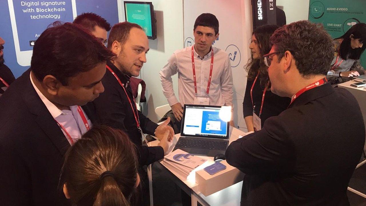 La tecnología gallega triunfa en el Mobile.Wan Biao, miembro del consejo directivo de Huawei y responsable de Mobile Broadband y Home Device Product Line
