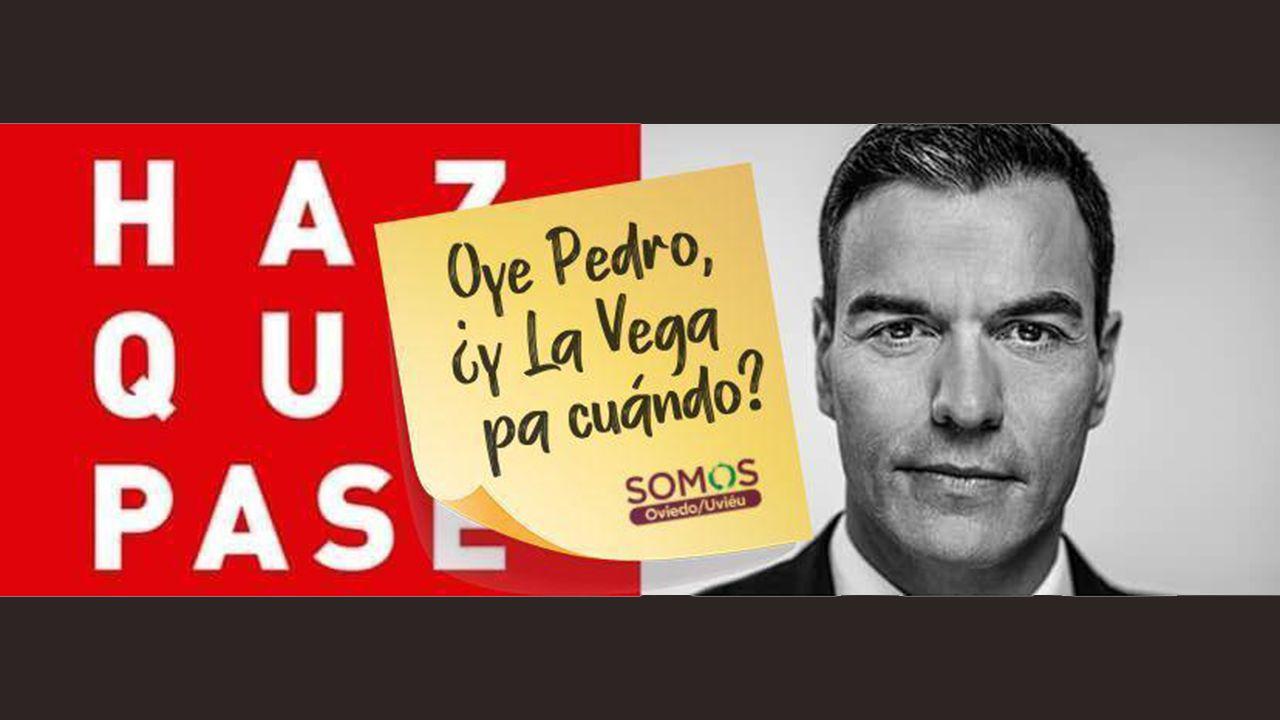 El vídeo de Somos para exigir a Pedro Sánchez que impulse la negociación por La Vega
