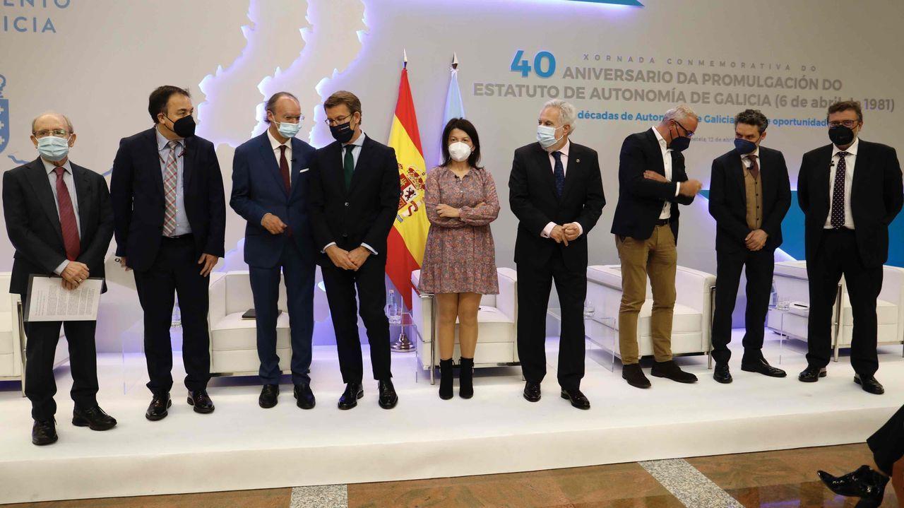 40 años del Estatuto de Galicia: intervención de Alberto Núñez Feijoo