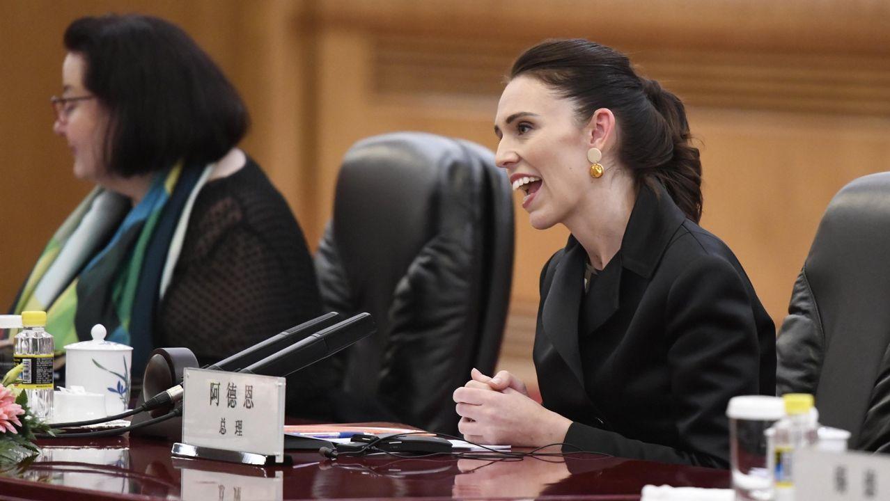 La primera ministra de Nueva Zelanda, Jacinta Ardern