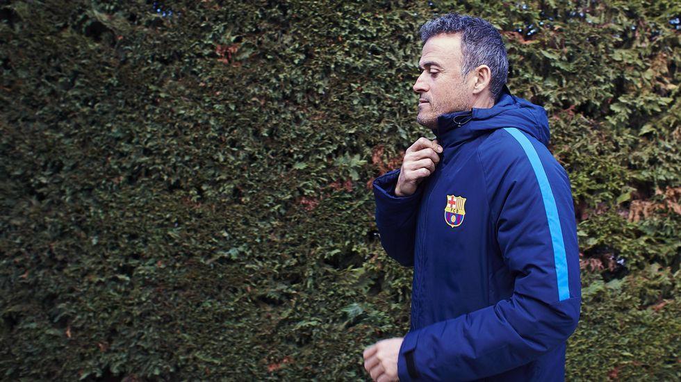 Luis Enrique y las quejas a los árbitros del Barça