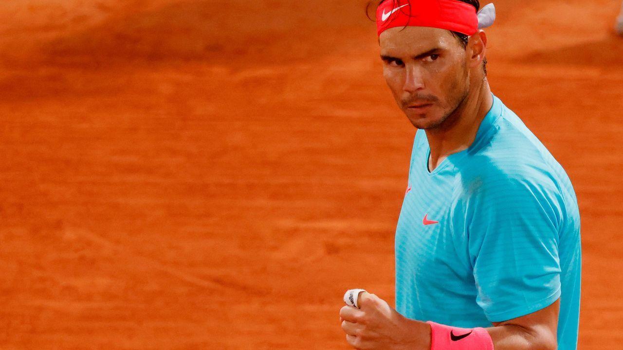 Pablo Carreño, durante su partido en Roland Garros contra el alemán Daniel Altmaier
