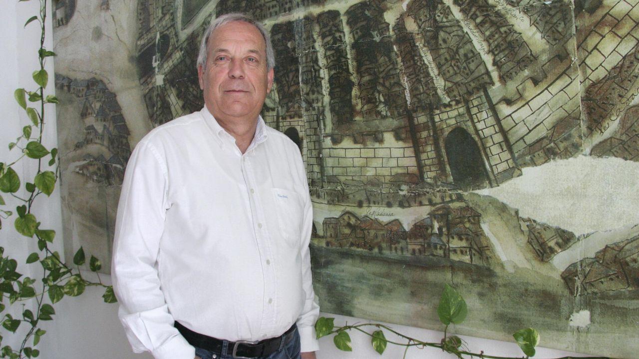 Rueda de prensa del ya exalcalde de Betanzos Ramon García
