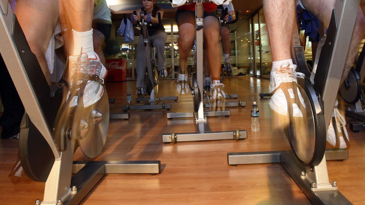 En Lugo es casi imposible encontrar bicicletas estáticas