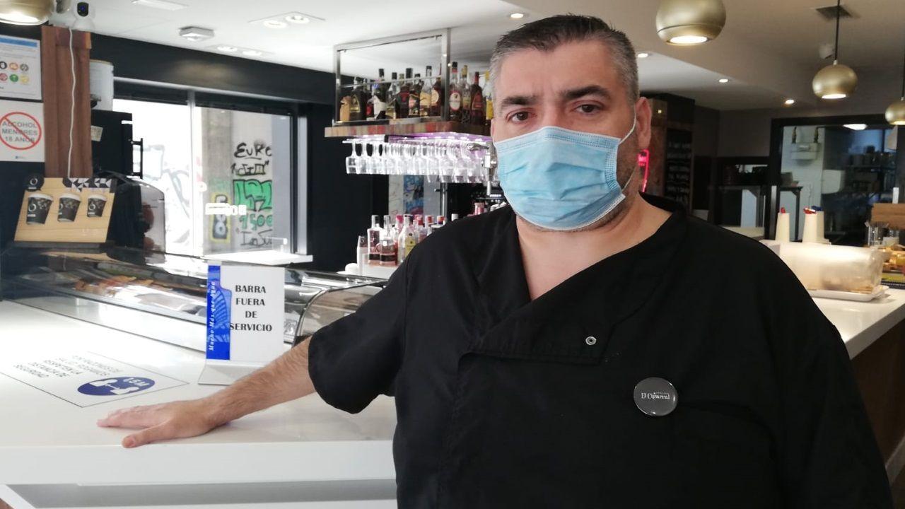 José Manuel Souto Zas, propietario de El Cigarral