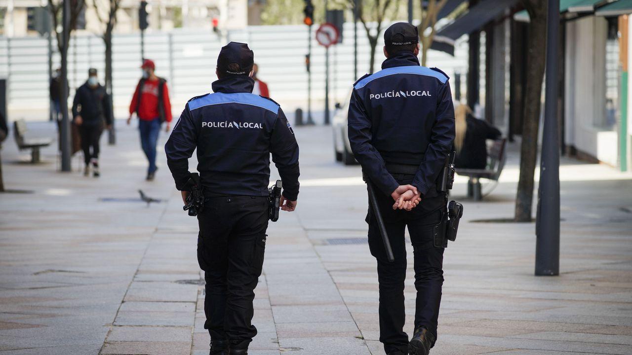 Las patrullas tienen que estar compuestas por un mínimo de dos agentes