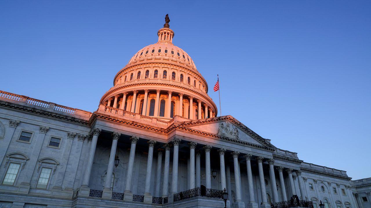 Imagen del Capitolio, en Washington