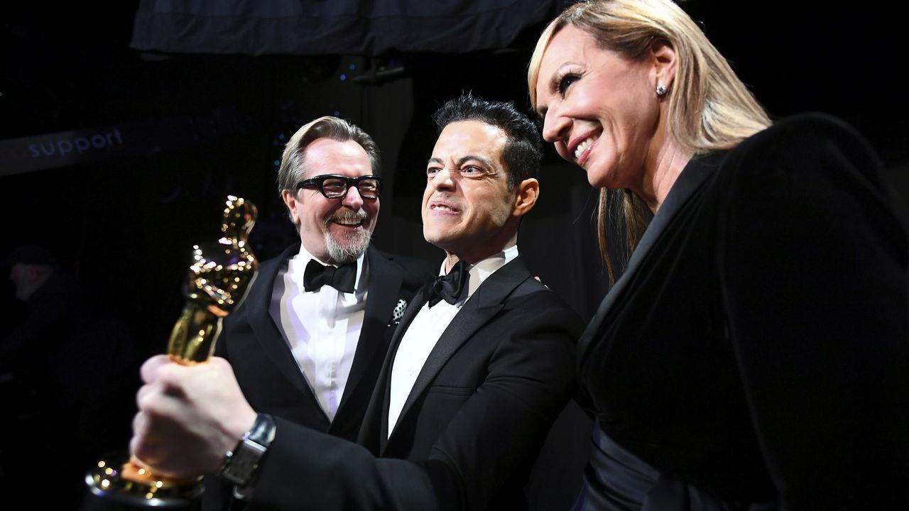 Rami Malek, Gary Oldman y Allison Janney