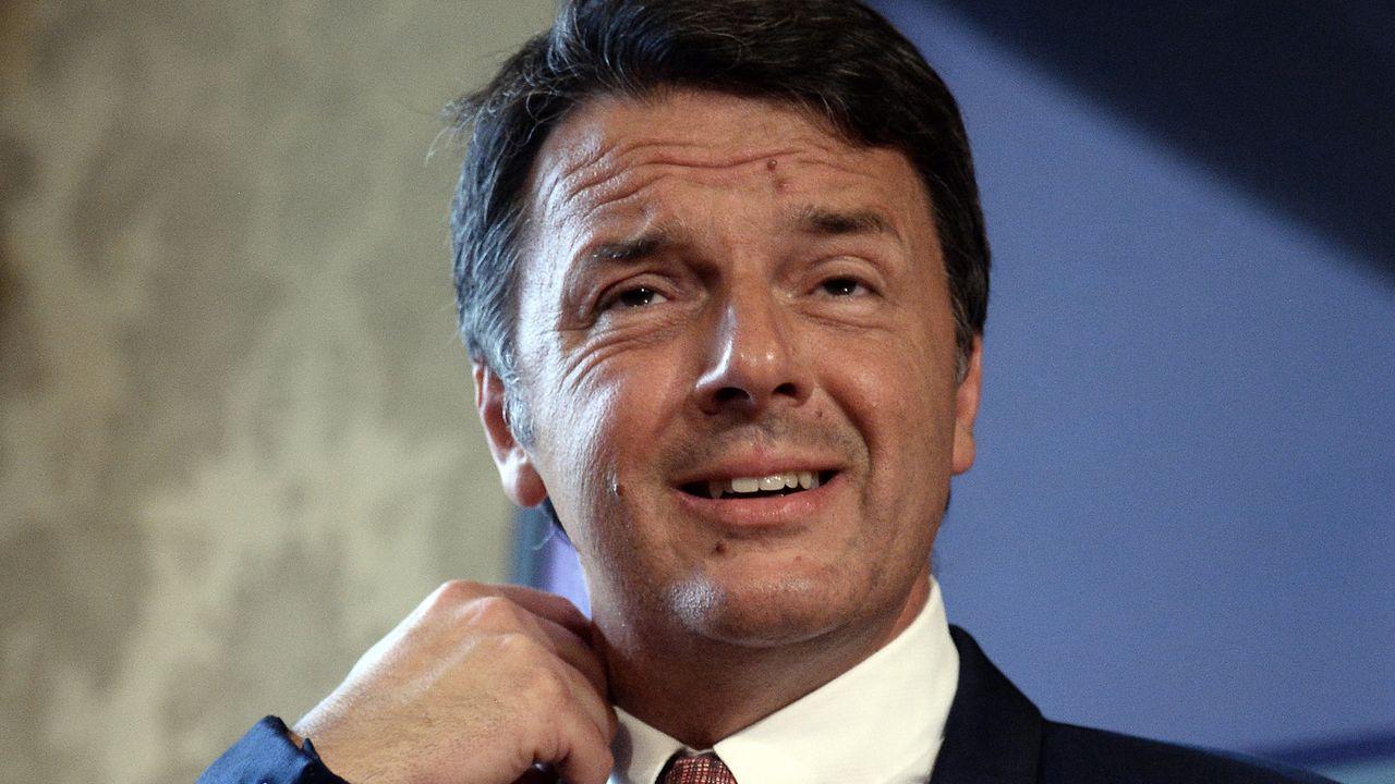 Los sondeos no auguran más del cinco por ciento de apoyo para el nuevo partido del ex primer ministro Matteo Renzi