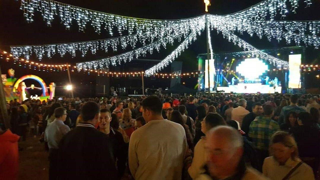Romería asturiana (fiesta de prau) en Manzaneda (Gozón)