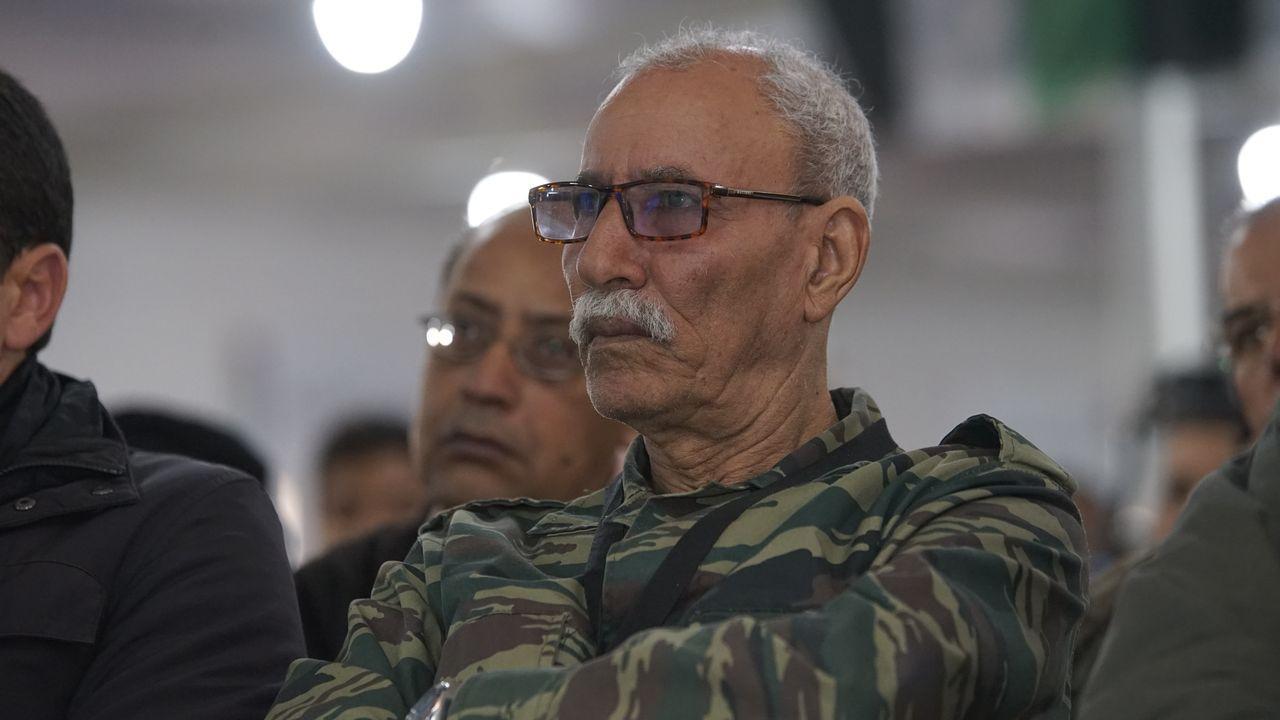 Brahim Gali, presidente de la República Árabe Democrática Saharaui y secretario general del Frente Polisario