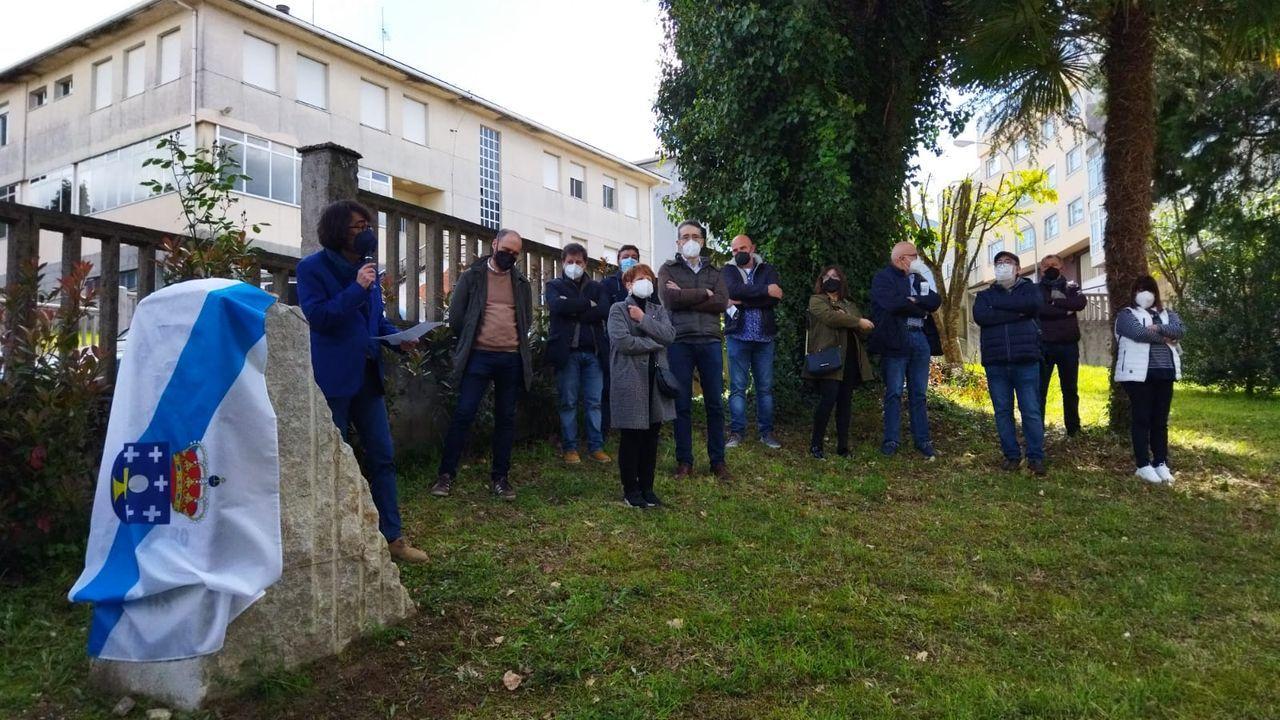 Homenaje en Vilalba a José Antonio Bermúdez, primer director del IES Insua Bermúdez