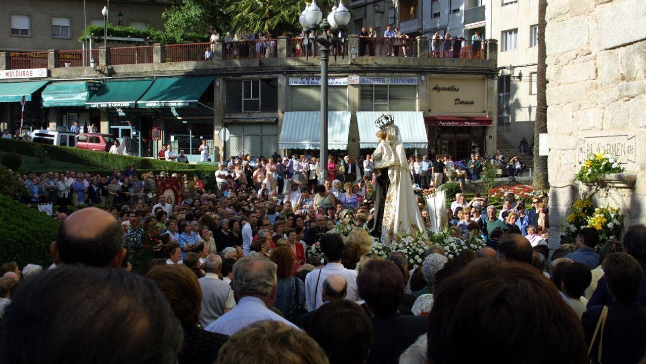 La procesión en honor a la Virgen del Carmen sigue celebrándose en numerosos puntos de la provincia