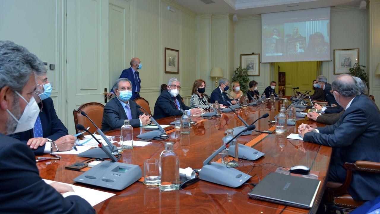 Reunión del pleno del Consejo General del Poder Judicial