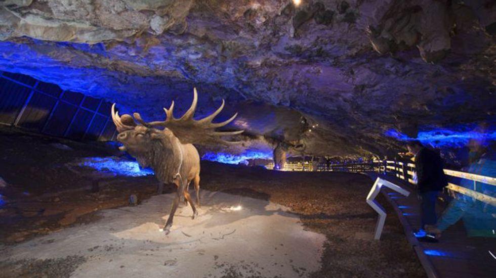 Cueva de Avín, conocida como «la cuevona».