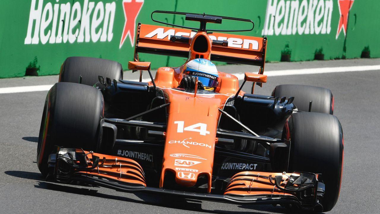 Fernando Alonso, en Shanghái