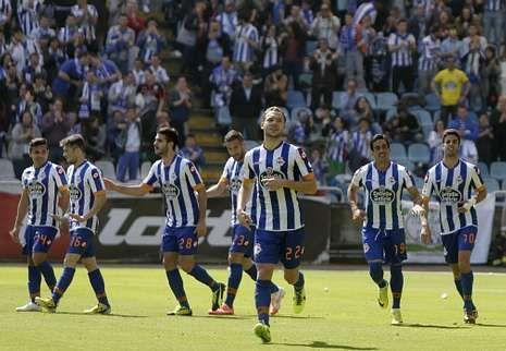 La necesidad de Fernando Vázquez de reformar el equipo acabó por deparar un gran encuentro frente al Recreativo.