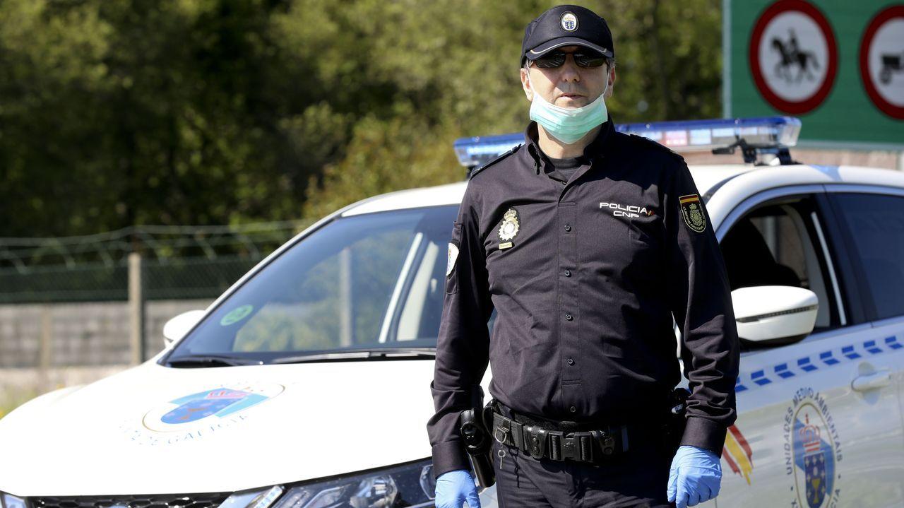 Abel Lobato, de la Policía Autonómica