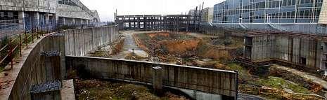 Al cancelar definitivamente los dos edificios del Gaiás que estaban paralizados, la Xunta se ahorra 170 millones de euros, sin contar costes de mantenimiento.