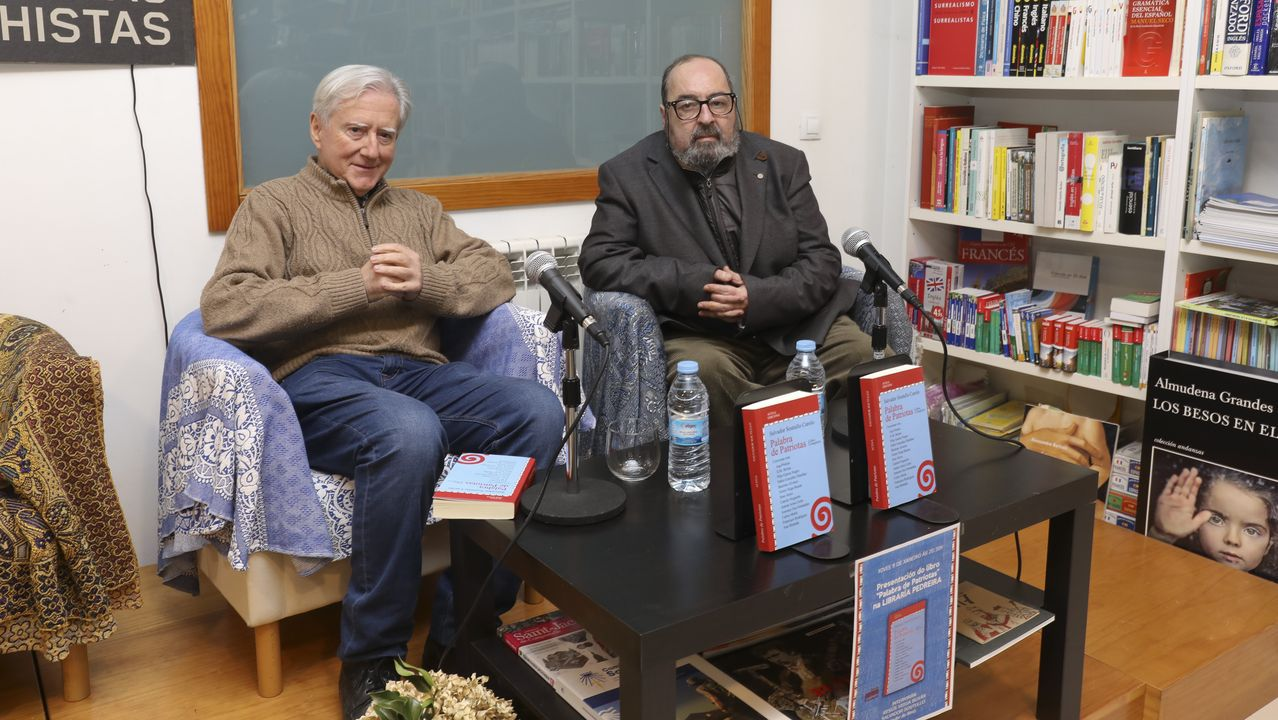 Pablo Isla, presidente de Inditex, junto al presidente de Cáritas Española, Manuel Bretón, y la secretaria general de Cáritas Española, Natalia Peiro