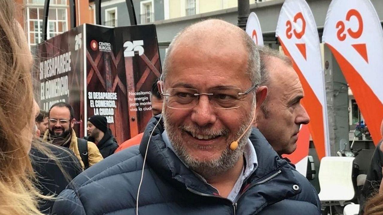 Francisco Igea, de Ciudadanos, en una imagen de archivo