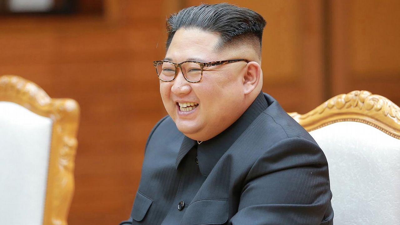 Donald Trump y Kim Jong-Un ya están en Singapur.Kim Yong-chol, junto a Kim Jon-un, en la reunión con el presidente surcoreano, Moon Jae-in