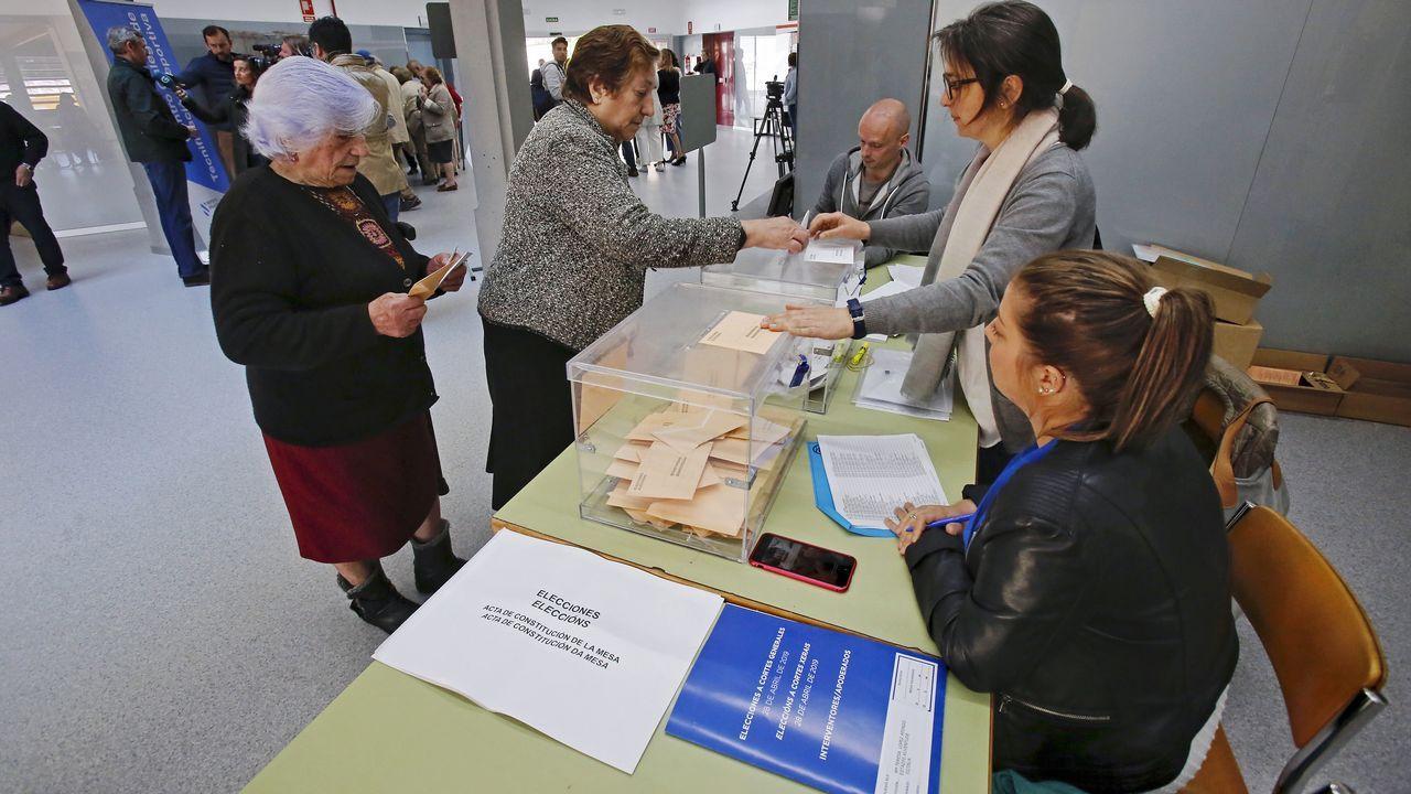 Así eran y así son los alcaldes y a la vez candidatos más veteranos de la comarca de Pontevedra