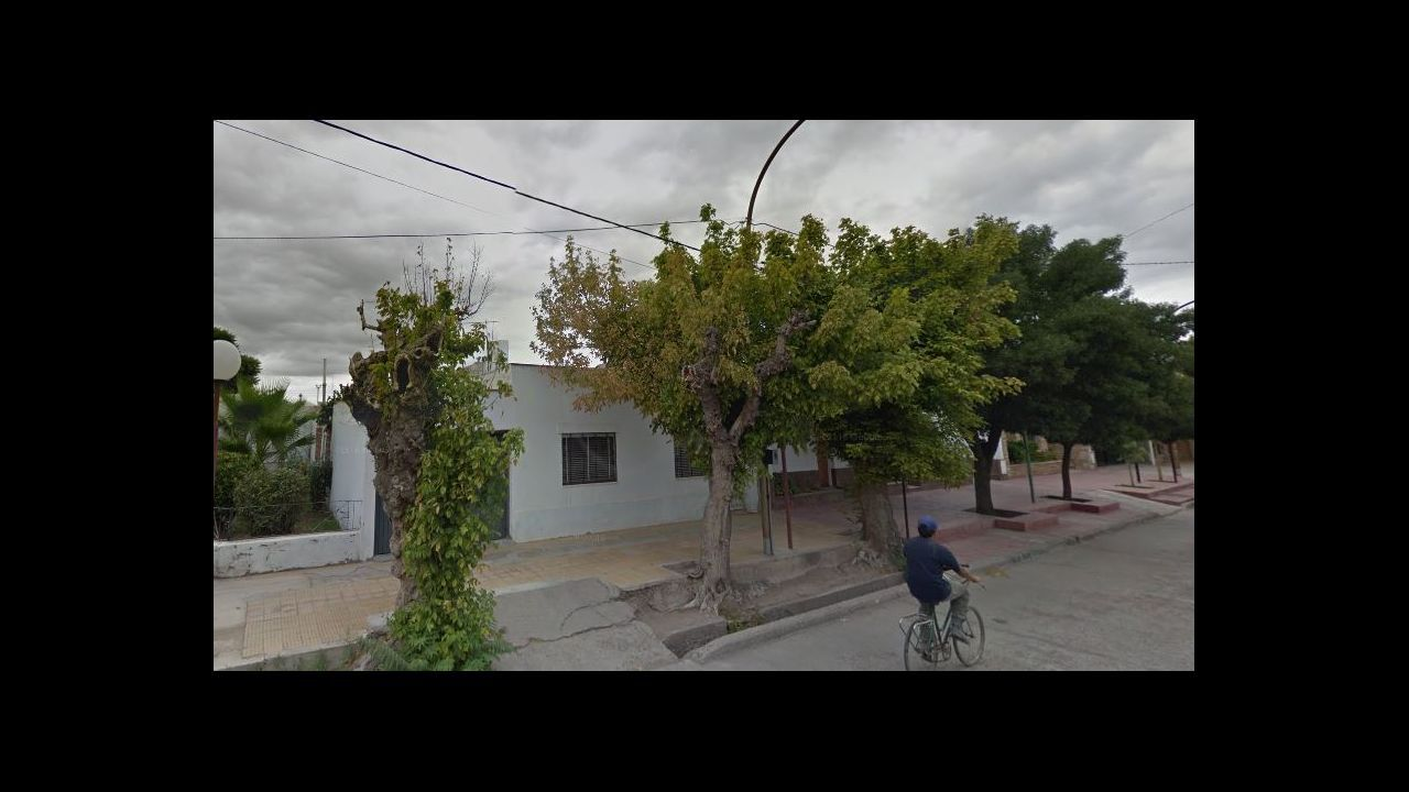 Calle Emigdnio Herráiz en Palmira (Mendoza)