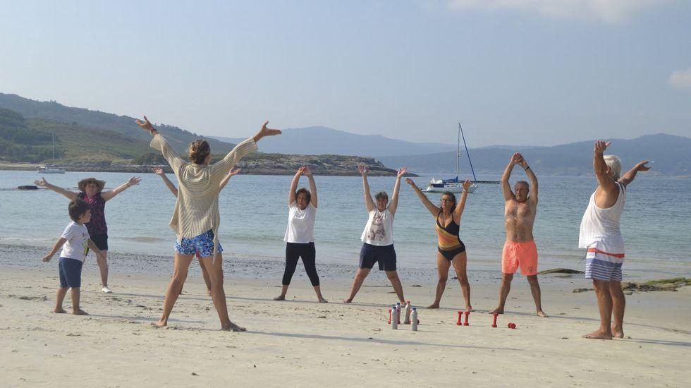 Playa de Osmo, en Corme