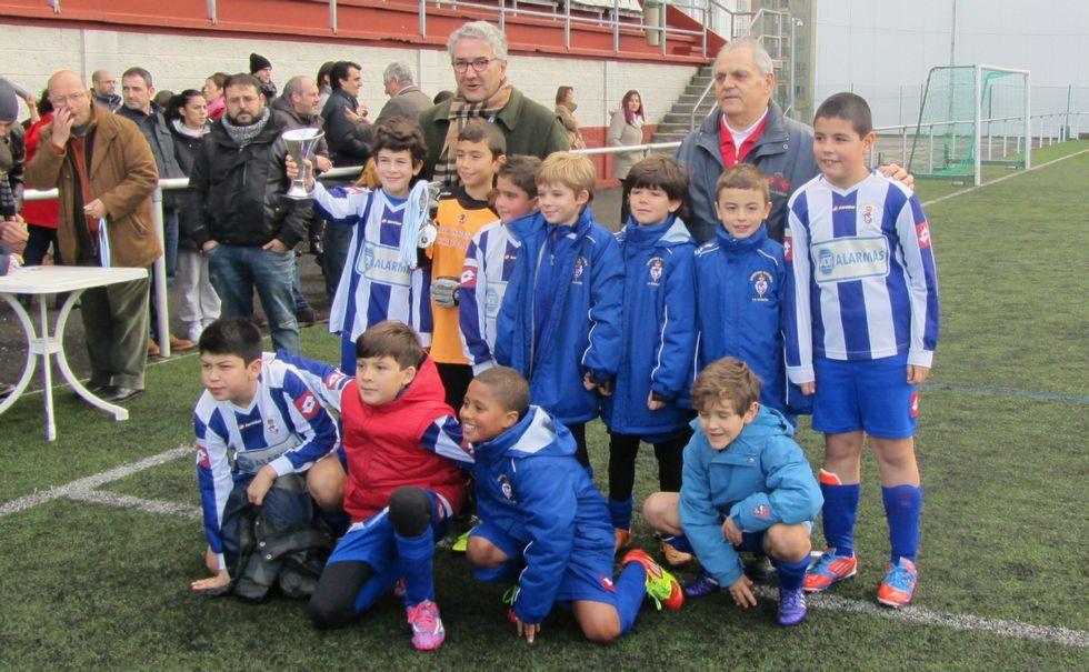 Sporting Coruñés, campeón de primera benjamín