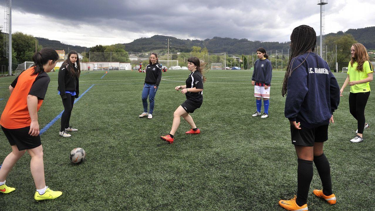 El Deportivo femenino y el Athletic se miden en el Teresa Herrera.Irureta, entrenador del Dépor.